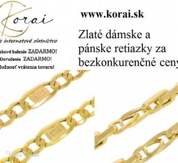 Zlaté retiazky od KORAI